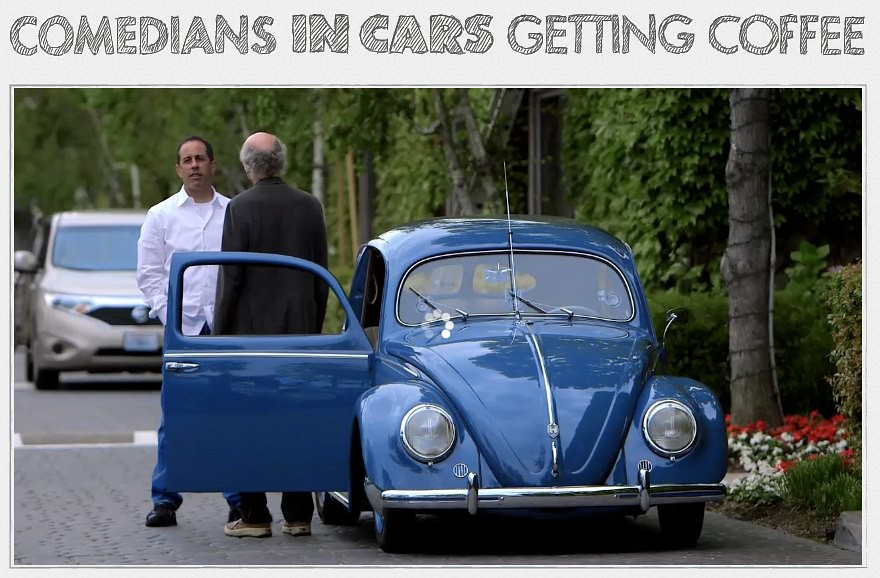 Larry Eats a Pancake - Larry David - Comedians In Cars Getting Coffee