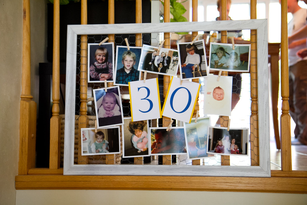 30th birthday sign