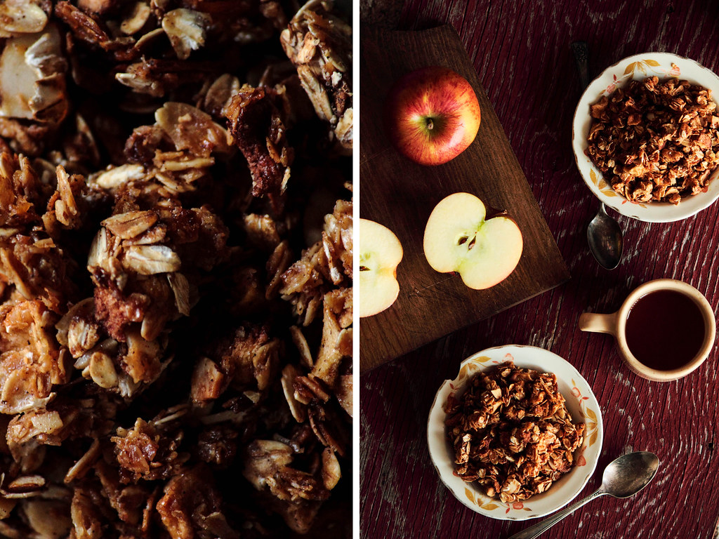 Caramel Apple Granola