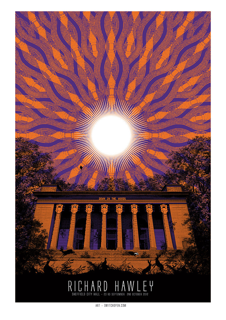 Ltd Ed Signed – Sheffield City Hall 2012 Poster