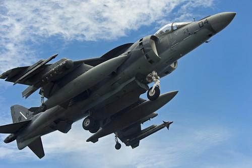 [フリー画像素材] 戦争, 軍用機, 攻撃機, AV-8B ハリアー II, アメリカ軍 ID:201209240000