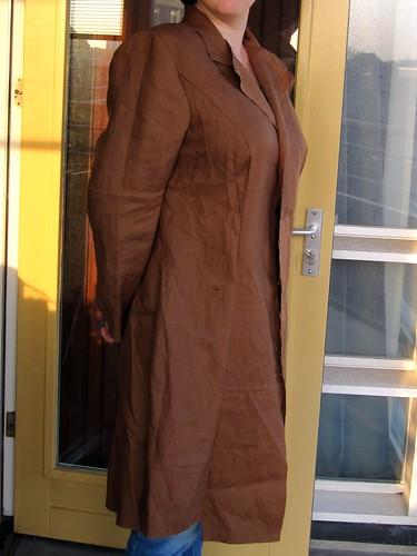 Coat muslin, side