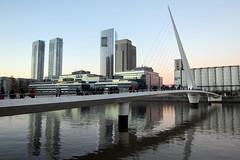Buenos Aires - Puerto Madero: Puente de la Mujer