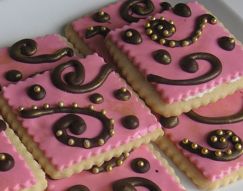 Galletas con Decoracion de Fondant
