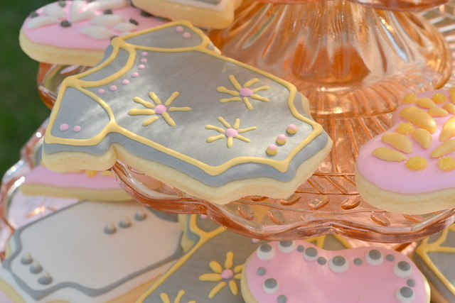 Baby Shower Cookies by Kellee