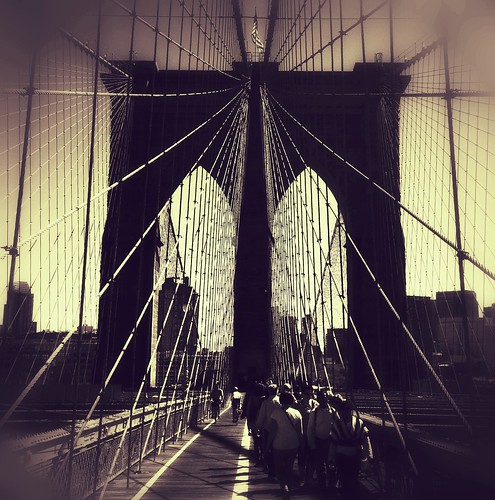 Brooklyn Bridge by Cliff Truesdell