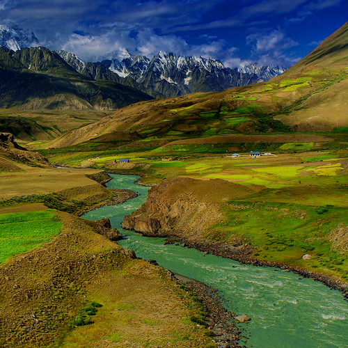 [フリー画像素材] 自然風景, 山, 河川・湖 ID:201209290800