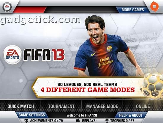 FIFA Soccer 13 для iPhone 4S/5