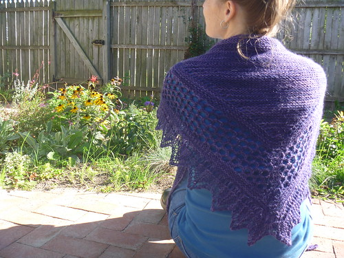 my aestlight shawl