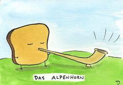 Das Alpenhorn