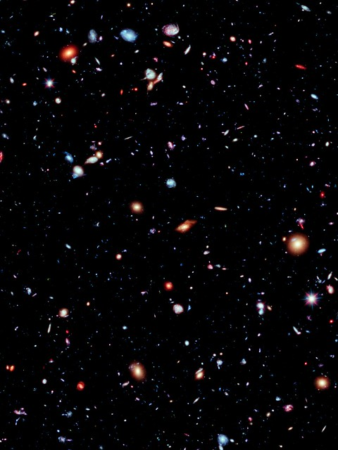 Hubble Deep Field High Resolution Wallpaper - Pics about space