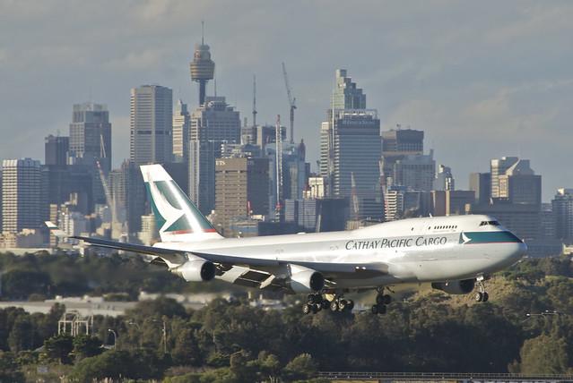 Cathay Pacific Cargo Boeing 747-400F; B-KAF@SYD;29.07.2012/664dm