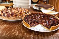meal, breakfast, baking, baked goods, pecan pie, food, dish,