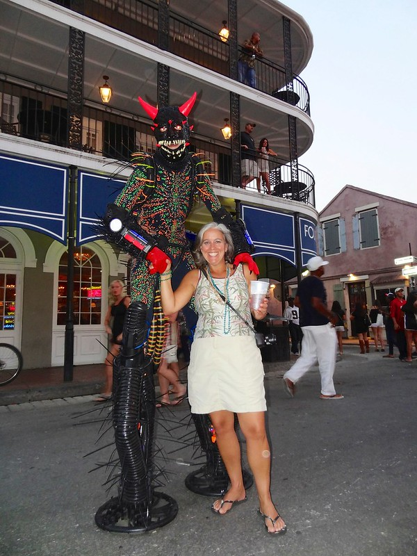 Sara with alien