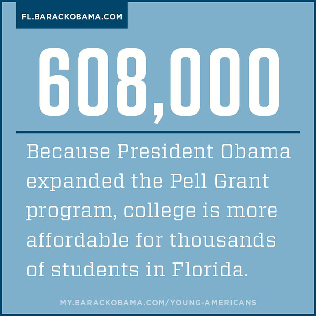 President Obama is making college more affordable for Florida students