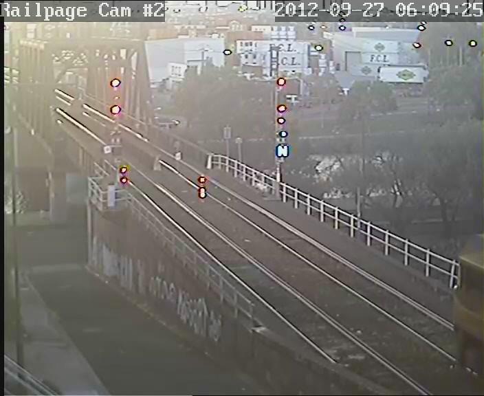 (VIDEO) LDP008-LDP006-2821-2815-2809 3BM7(9654) QRN Superfreighter from Brisbane 27-9-2012 by Railpage Bunbury Street