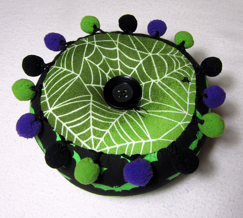 halloween pincushion
