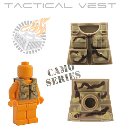 Tactical Vest - Dark Tan (camouflage)