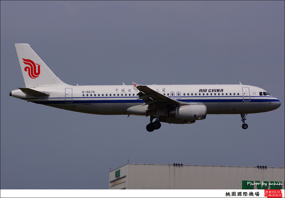 中國國際航空B-6676