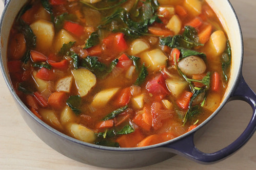Hearty Vegetable Stock (Vegan) Recipe — Dishmaps