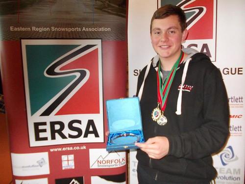 Daniel Overall Male ERSA Championships 2012