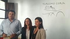 QUEDA INAUGURADA OFICIALMENTE LA NUEVA OFICINA DE TURISMO DE LA CIUDAD DE CORIA
