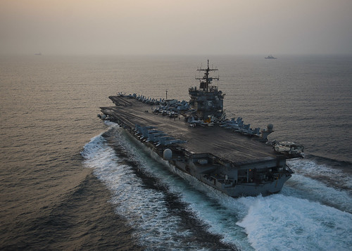 USS Enterprise is underway on her final deployment. | by Official U.S. Navy Imagery
