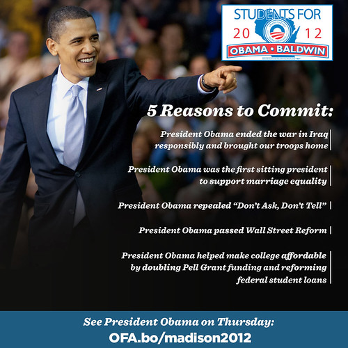 Obama5Reasons SeeOnThurs