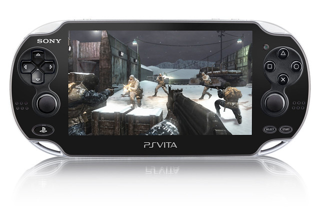 Call of Duty Black Ops Declassified on PS Vita