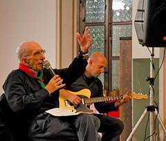 Mauro Settegrani con Don Andrea Gallo
