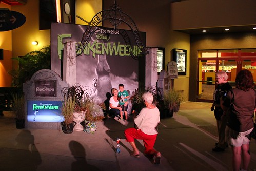 Jack and Sally meet-and-greet at Frankenweenie Weekend