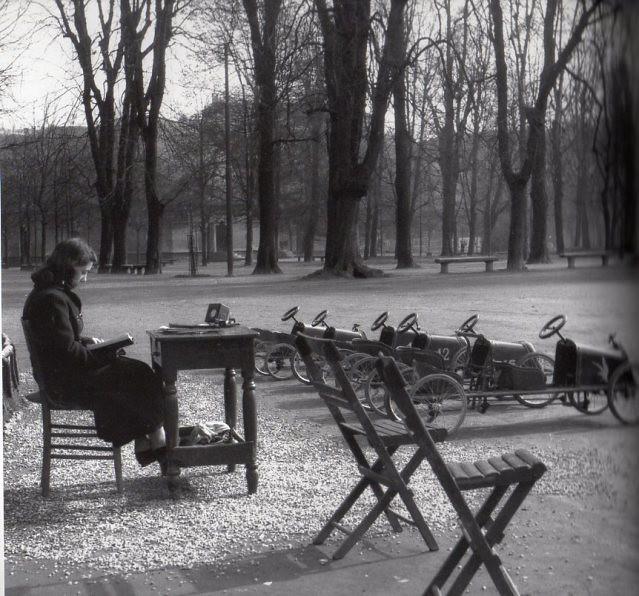 Giardini Pubblici noleggio automobiline anni 50