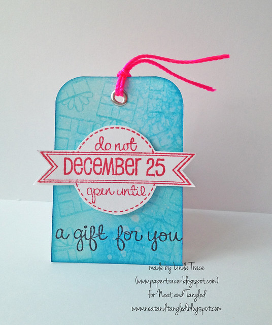 Neat and Tangled Gift Tag