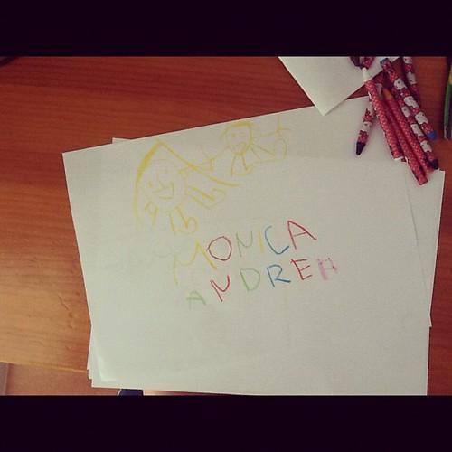 Dibujo de Aroa (3 años)