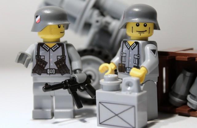 My Lego Custom Nebelwerfer + Opel Blitz 1