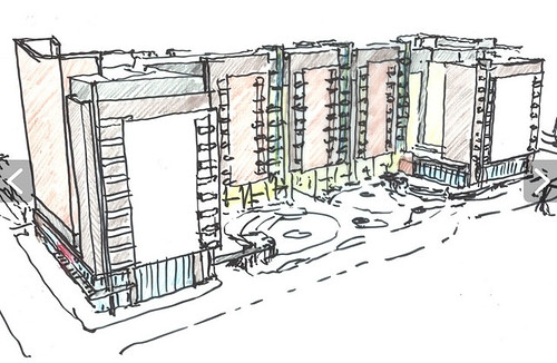 studio plaza sketch