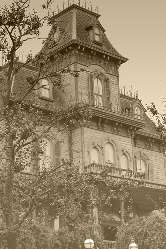 Phantom Manor in sepia