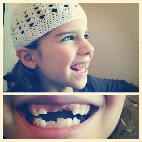 I love her #toothless smile.