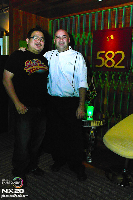 grill 582 Chef Jaffery Othman