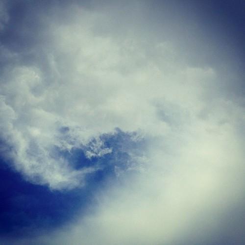 #blue #swirl #sky
