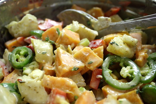 Jamaican potato salad