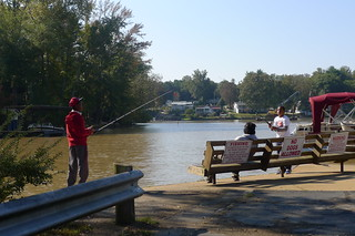 Fishing at Saluda Landing