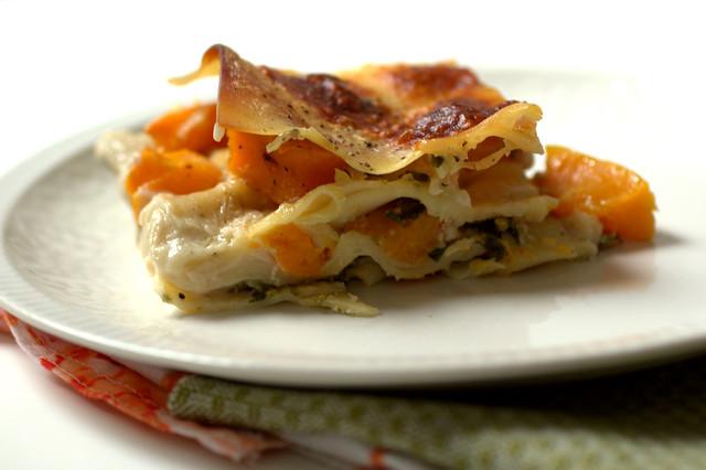 squash + broccoli rabe lasagna | love.life.eat