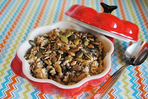 Pumpkin Seeds on Irish Porridge