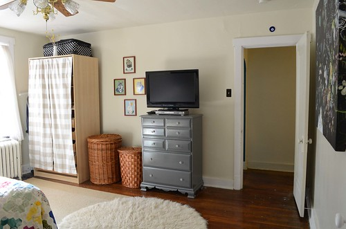 Bedroom from desk