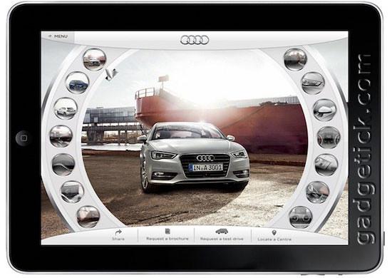Приложение iPad для Audi A3