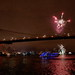 Brooklyn bridge & Columbus day fireworks