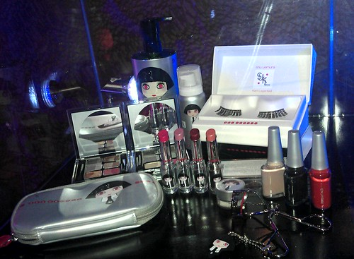 Karl Lagerfeld x Shu Uemura Holiday 2012 Collection