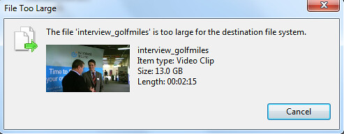 File is too Large