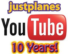 Celebrating 10 years on You Tube! With close to 300,000 subscribers and 100 Million Views you should visit us now, subscribe and enjoy one of the Top Aviation channels on You Tube!  Find our channel through JUSTPLANES.COM  #justplanes #youtube #aviation #